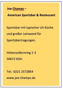 American Sportsbar Köln